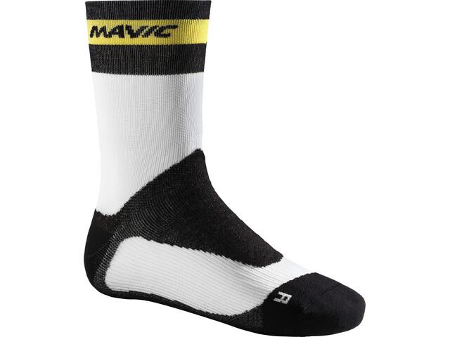 Mavic Ksyrium Pro Thermo+ Cycling Socks white